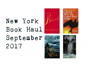 new york book haul