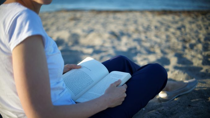 reading on the beach, july 2017 reads