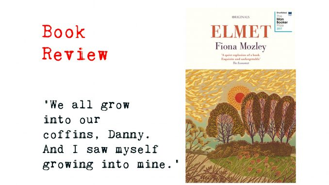 Elmet by Fiona Mozley collage